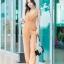 JS0030 เสื้อผ้าแฟชั่น เสื้อผ้าเกาหลี ชุดจั๊มสูท จั๊มสูทขายาว จั๊มสูทกางเกง ชุดออกงาน ชุดทำงาน แขนกุด (สีส้มอิฐ) thumbnail 1
