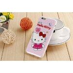 2.Kitty (ชมพู IMD) - เคสยาง iPhone 6 / 6S
