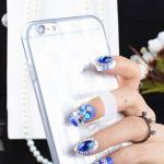 เคสลาย สีขาว (เคสยาง) - iPhone6 Plus / 6S Plus