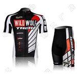 ชุดปั่นจักรยานแขนสั้น WILD WOLF TREK SIZE S