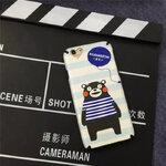 2.หมีคุมะมง - ยางหนา เคลือบพิเศษ - iPhone 6 Plus / 6S Plus