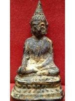 พระบูชารัตนโกสินทร์ จีวรเรียบ ขึ้นกรุวัดเชิงท่า นนทบุรี