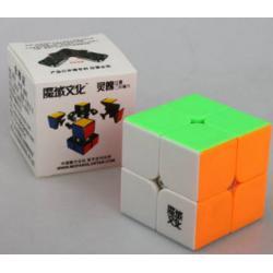 รูบิค Rubik MoYu LingPo 2x2x2 50mm Stickerless