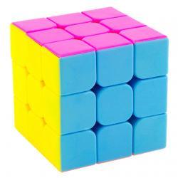 Rubik รูบิค 3x3x3 YJ GuanLong Stickerless