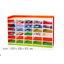 ชั้นหนังสือเด็ก ชั้นวางของ 30 ช่อง สีสรรสวยงาม ขนาด 150*30*90 ซม. thumbnail 2