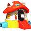 บ้านพลาสติก บ้านกระดานลื่นเห็ด ขนาด 226*255*160 ซม. thumbnail 1