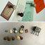 แม็กเนต ที่ติดตู้เย็นรูปเห็ดเล็กสไตล์ Zakka เซ็ต 3 ชิ้น มี 2 สีให้เลือก thumbnail 3