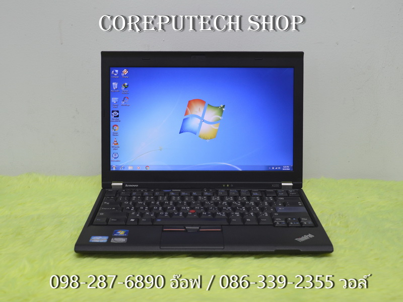 LENOVO ThinkPad X220 Intel Core i7-2640M 2.80GHz.