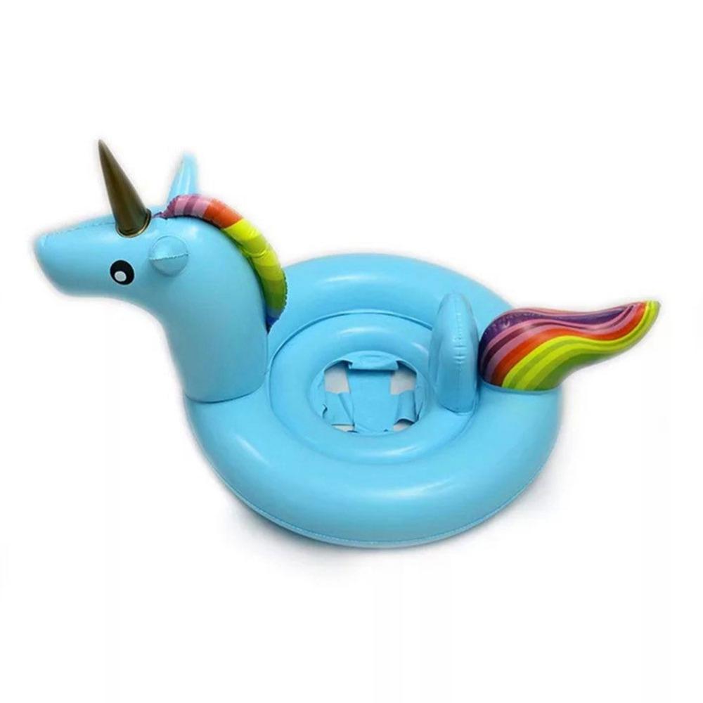 Blue Unicorn for baby ห่วงยางแฟนซี ยูนิคอร์นเบบี๋สีฟ้า