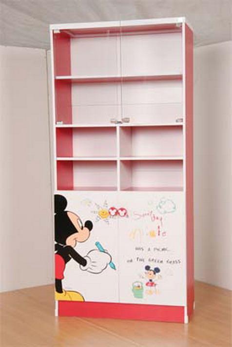 ตู้เก็บหนังสือเด็ก ตู้หนังสือลายลิขสิทธิ์แท้ Kitty Doraemon Pooh Micky