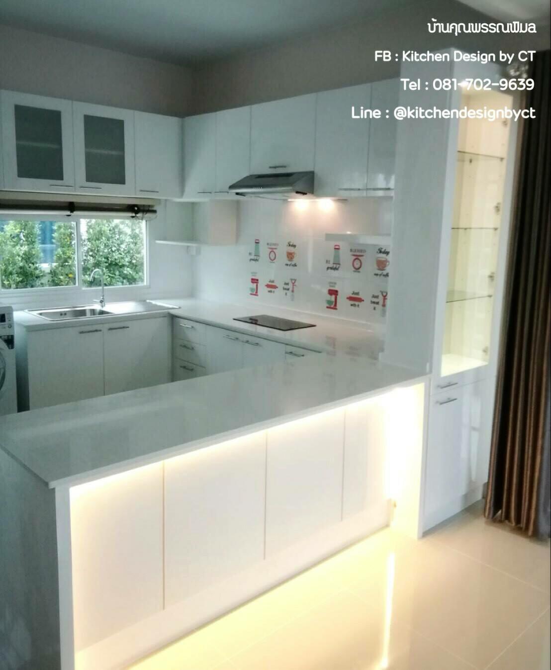 Classic White Kitchen (ครัวบิ้วอินสีขาวสไตล์คลาสสิค)