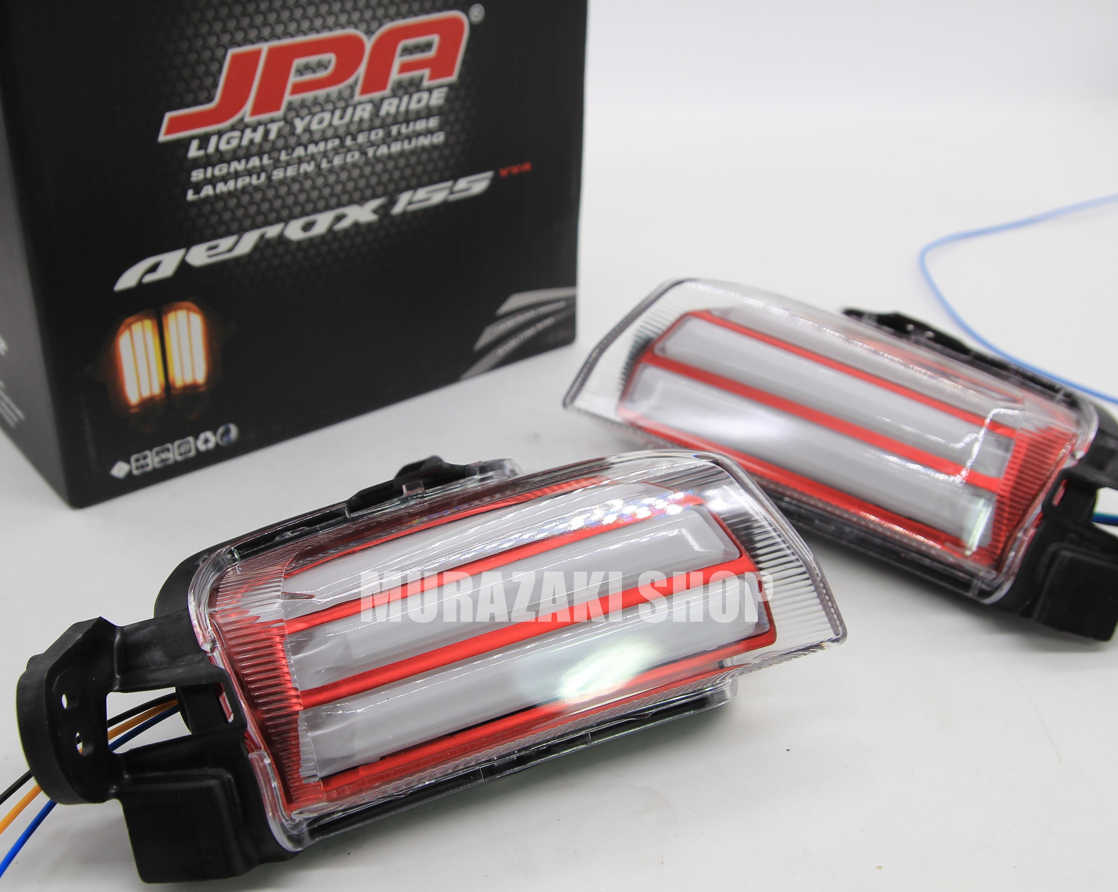 ไฟเลี้ยวหน้า JPA ใส่ YAMAHA AEROX ราคา1200 มี3สี