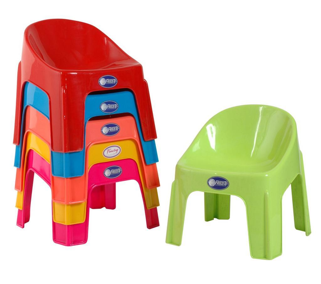 เก้าอี้พลาสติกสำหรับเด็ก มีหลายสี