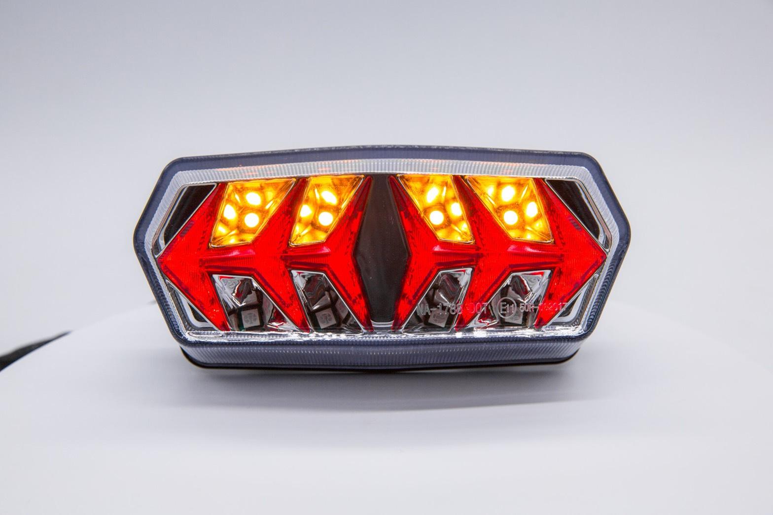 ไฟท้าย Msx Lambo ใส่MSX 125 MSX SF GPX DEMON ใส่รถ CB650F CB150R แปลงปลั๊ก ราคา550