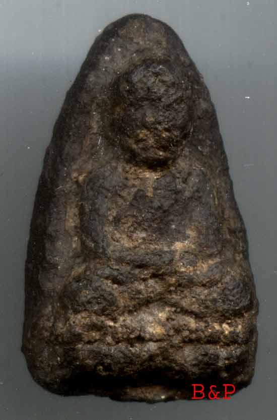 หลวงปู่ทวด วัดช้างให้ เนื้อว่าน รุ่นแรก ปี๒๔๙๗ พิมพ์ใหญ่C