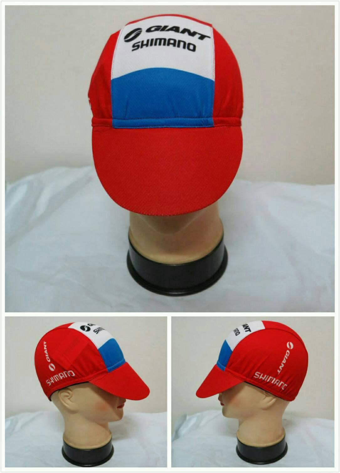 หมวกแก๊ป ลาย giant แดง (แอดไลน์ @pinpinbike ใส่ @ ข้างหน้าด้วยนะคะ)