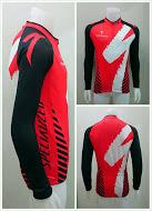 เสื้อปั่นจักรยาน แขนยาว SPECIALIZED สีแดง (แอดไลน์ @pinpinbike ใส่ @ ข้างหน้าด้วยนะคะ)