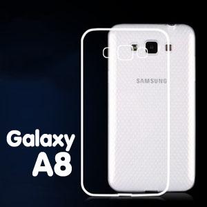เคสใส (เคสยาง) - Galaxy A8