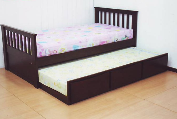 Twinnity เตียงเด็ก มีกระบะนอนด้านล่าง