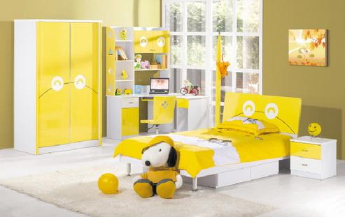 ชุดห้องนอนเด็ก Happy น่ารัก