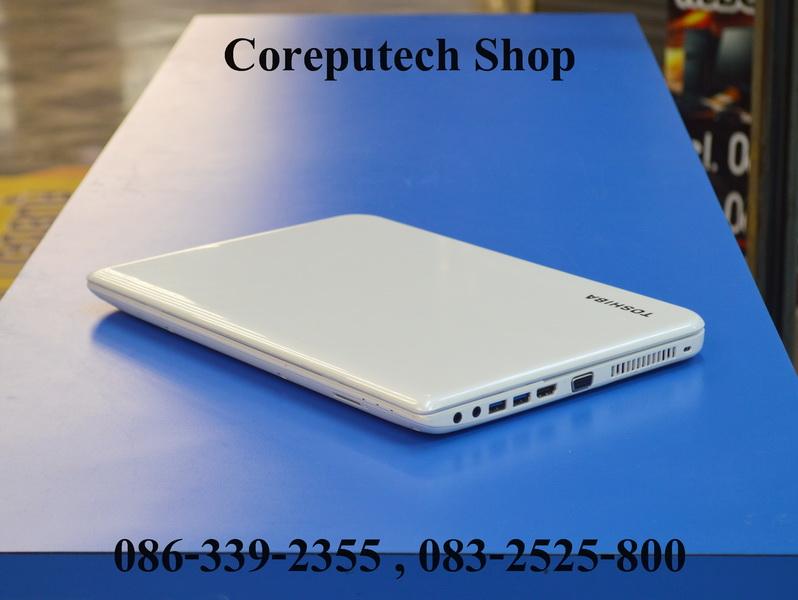 Toshiba Satellite L40-A Core i5-3337U , GT 740M สภาพสวย สีขาวโดนๆ สเปคแรงน่าใช้งาน จัดไป 9,900 บาท