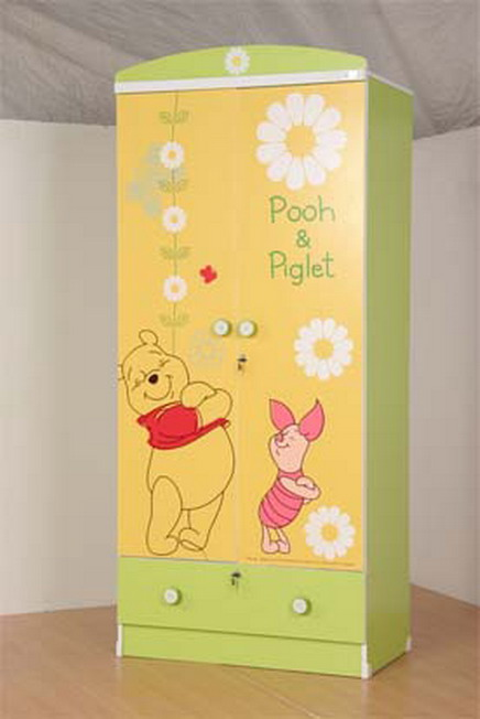 ตู้เสื้อผ้าหมีพลู POOH ลิขสิทธิ์แท้