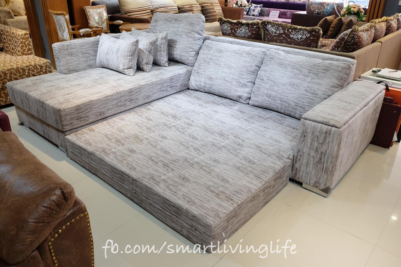 โซฟาเบด โซฟาปรับนอน รุ่น Sofa Bed Comfy Storage (Relax)