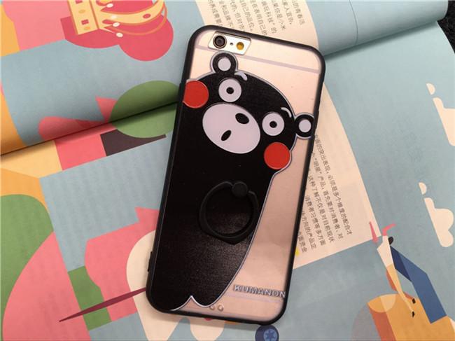 ขอบยาง มีขาตั้ง วันพีช หมีคุมะมง และอื่นๆ - เคส iPhone 6 / 6S