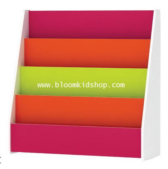 **PROMOTION 12แถม1** ชั้นหนังสือเด็กโชว์หน้าปกหนังสือ ขนาด 90*30*90 ซม.