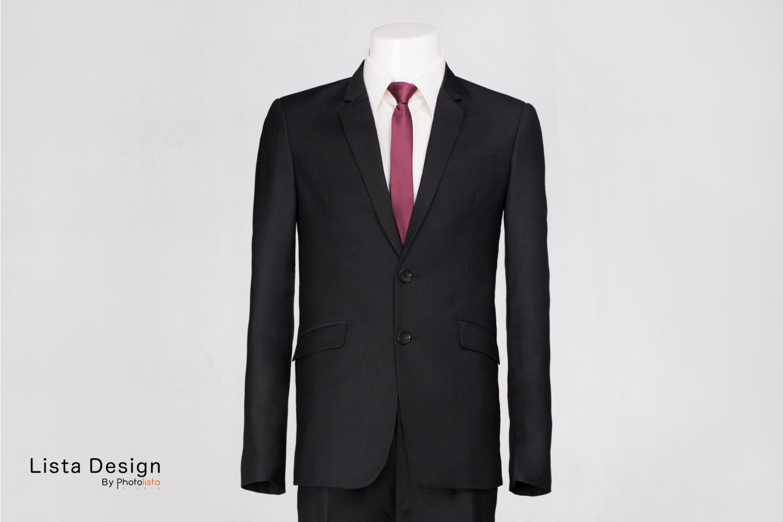 เสื้อสูทชาย สีดำ