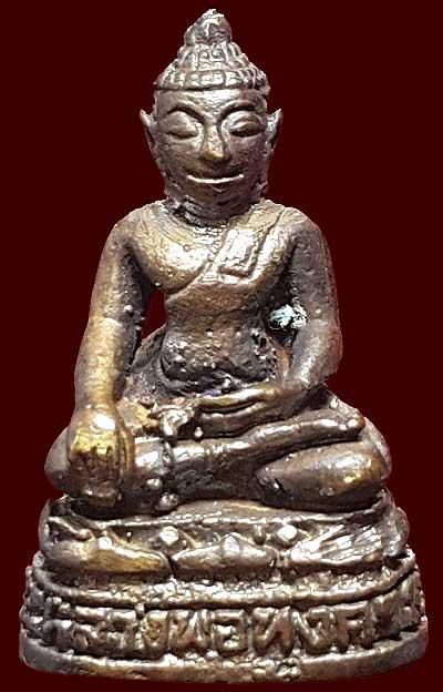 รูปเหมือนหลวงพ่อทุ่งคา วัดบูรพาราม ปัตตานี ปี๒๕๓๐