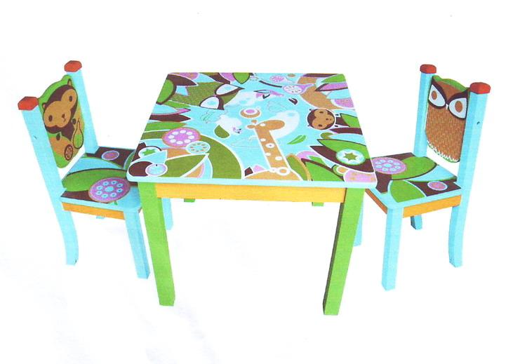 Little Jungle โต๊ะเขียนหนังสือเด็ก สวย แข็งแรงมากๆ