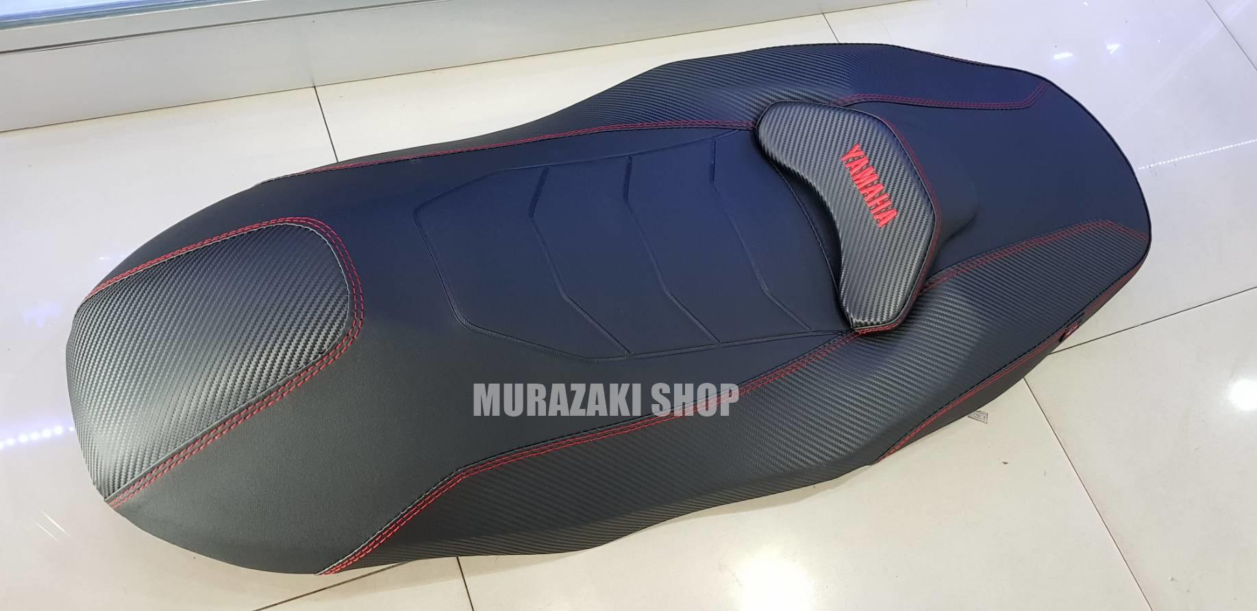 เบาะyamaha X-MAX 300 จาก Noi วัดด่าน โครงแท้ มีด้ายสีแดง ดำ ขาว น้ำเงิน ราคาสับ 2,500 บาท
