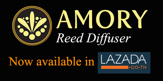 AMORY available in LAZADA