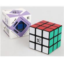 Rubik รูบิค 3x3x3 Dayan 5 Zhanchi 57mm Black