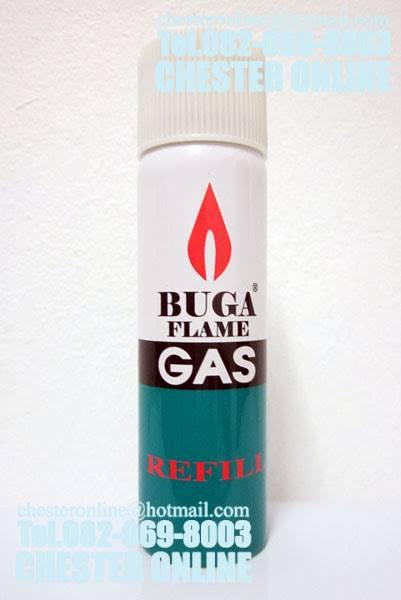 แก๊สบูก้ากระป๋อง สำหรับเติมไฟแช็ค ( 75 ml.)