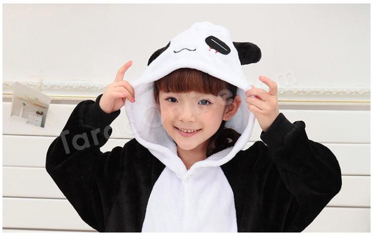 ชุดนอนมาสคอตเด็ก แพนด้า Size 95 (ขนาด 110 cm - 120 cm)