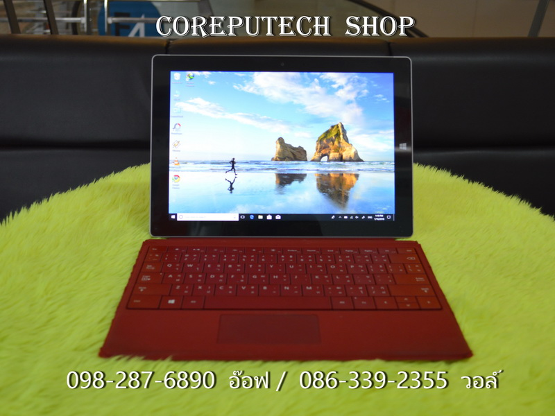 Microsoft Surface 3 Intel Atom x7-Z8700 1.60GHz. Ram 2GB SSD 64GB.