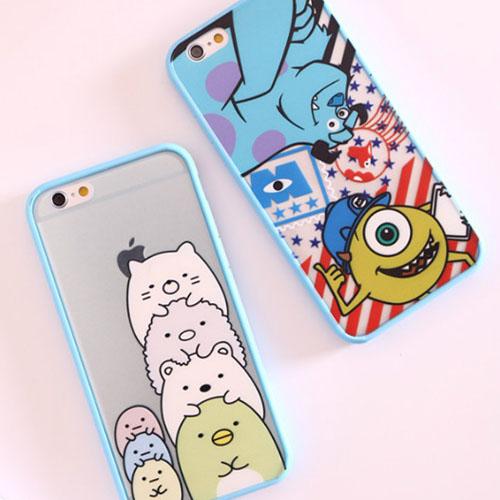 เคสการ์ตูน (ขอบยางหนา) - iPhone6 Plus / 6S Plus