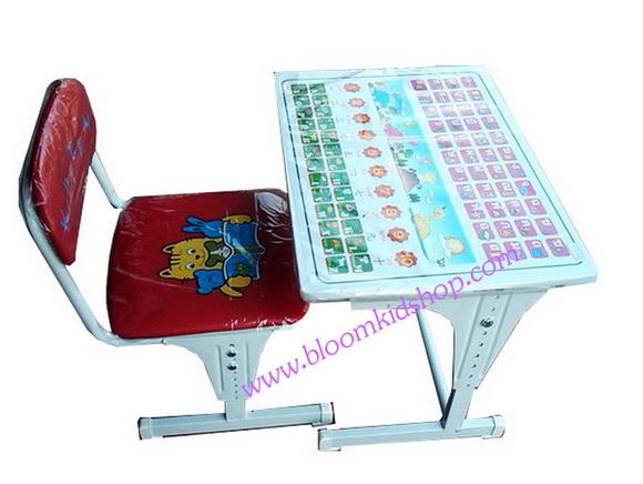 โต๊ะเขียนหนังสือเด็ก ABCโต๊ะเรียนเด็ก ปรับระดับได้