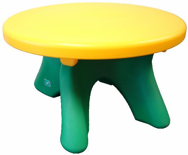 โต๊ะพลาสติกเด็กทรงกลม ของ LERADO