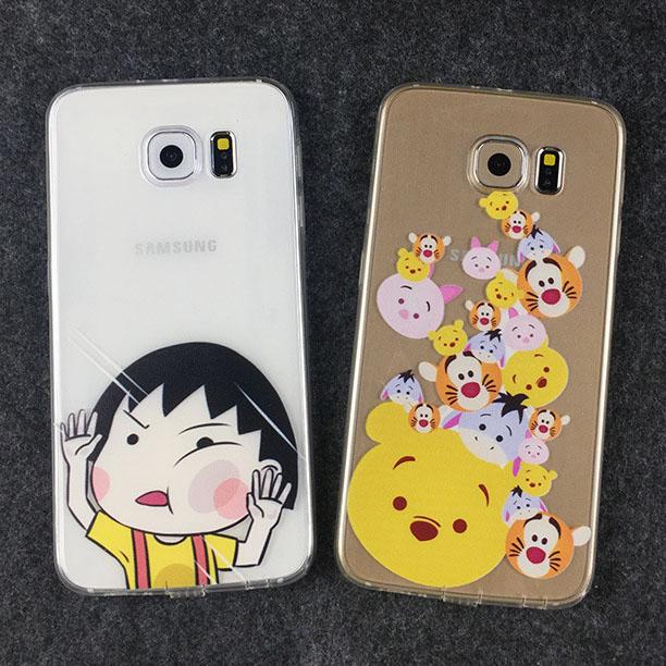 เคสลายการ์ตูน (เคสยาง) - Galaxy S6