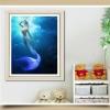 นางเหงือก ครอสติสคริสตัล Diamond painting ภาพติดเพชร งานฝีมือ DIY