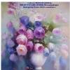 ดอกไม้ในแจกัน ภาพติดเพชร