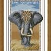 ช้าง ครอสติสจีนพิมพ์ลาย