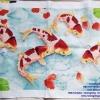 ครอสติสปักสำเร็จ ปลาคราฟดอกบัว 3D