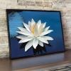 ดอกบัว ครอสติสคริสตัล Diamond painting ภาพติดเพชร งานฝีมือ DIY