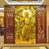 เทพเจ้ากวนอู ครอสติสคริสตัล Diamond painting ภาพติดเพชร งานฝีมือ DIY