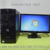 Set HP Compaq Desktop Intel Celeron E1500 2.20GHz. + LCD Monitor HP W185q 18.5-inch