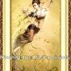 Angel Blessing นางฟ้าโปรยดอกบัว ครอสติสพิมพ์ลาย